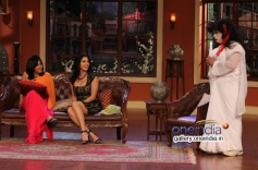 Sunny Leone and Ekta Kapoor promote Ragini MMS 2 on Comedy Nights With Kapil