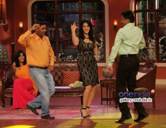 Sunny Leone performs on Comedy Nights With Kapil