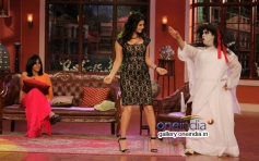 Sunny Leone having fun on Comedy Nights With Kapil