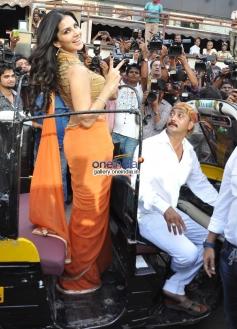 Sunny Leone at her film Ragini MMS 2 success bash