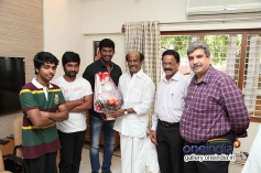 Superstar Rajnikanth Launches Naan Sigappu Manithan Audio Release