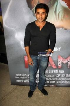 Suriya at Inam film special screening