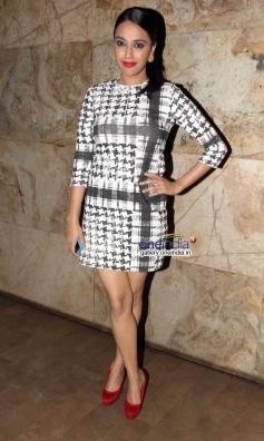 Swara Bhaskar at Queen film screening
