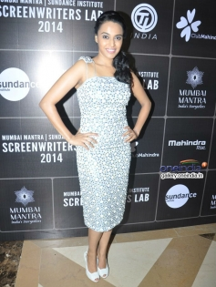 Swara Bhaskar at Third annual Mumbai Mantra Sundance Institute Screenwriters Lab 2014