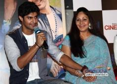 Tanuj Virwani and Rati Agnihotri at Purani Jeans film trailer launch