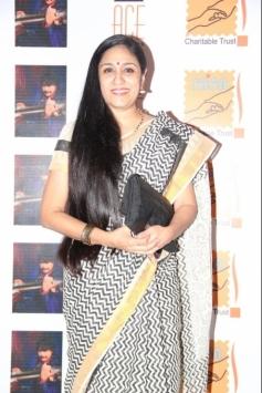 Uma Padmanabhan at Saga Charitable Trust event