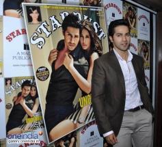 Varun Dhawan Unviels Stardust Magazine