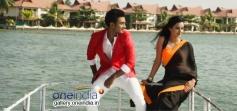 Varun and Rashi Singh in Kannada Movie Mamu Tea Angadi