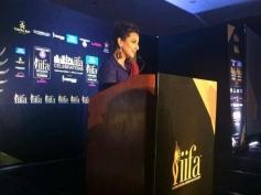 Vidya Balan promotes IIFA in Houston