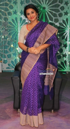 Vidya Balan shoots for Women's Day special on Star Plus