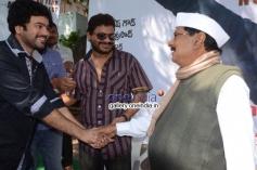 Vikram, M. S. Narayana at Krejiwala Movie Opening