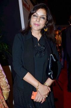 Zeenat Aman at Stree Shakti Women Awards 2014