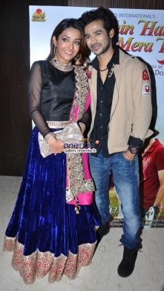 Abhishek Sethiya and Sonia Mann at Kahin Hai Mera Pyar film music launch
