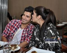 Aditya Seal and Izabelle Leite promtoe Purani Jeans at Neel restaurant