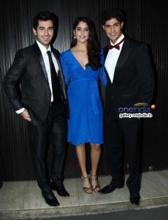 Aditya Seal, Izabelle Leite and Tanuj Virwani at Purani Jeans film music launch