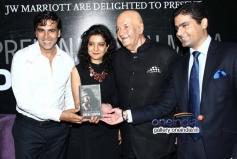 Akshay Kumar at Prem Chopra's autobiography launch