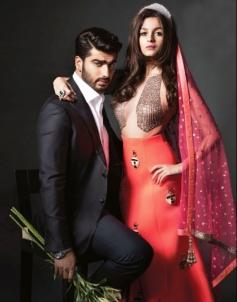 Alia Bhatt & Arjun Kapoor on Harper's Bazaar Bride April 2014