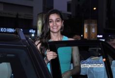 Alia Bhatt visits PVR Andheri to promote 2 States