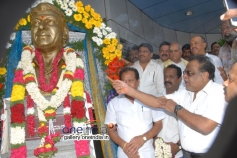 Ambareesh at Dr Rajkumar Birthday Celebration at Film Chamber