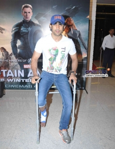 Amit Sadh at Captain America The Winter Soldier special screening