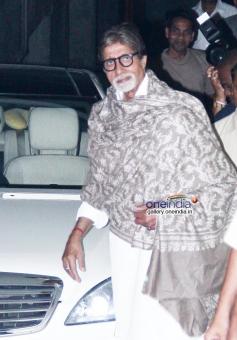 Amitabh Bachchan at Bhoothnath Returns film screening
