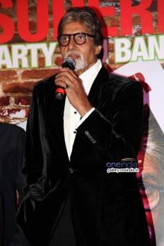 Amitabh Bachchan at Bhoothnath Returns success party