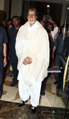 Amitabh Bachchan at Prem Chopra's autobiography launch