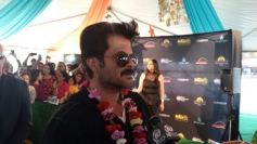 Anil Kapoor arrives at Tampa International Airport for IIFA 2014