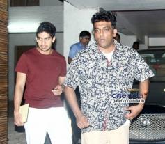Anurag Basu & Ayan Mukerji spotted at Aamir Khan's house