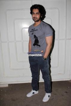 Arjan Bajwa at Dekh Tamasha Dekh film special screening