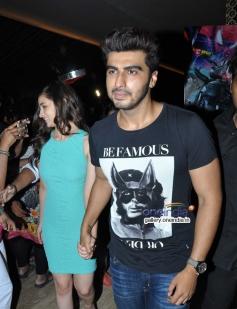 Arjun Kapoor and Alia Bhatt arrives at PVR Andheri