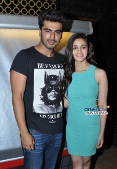 Arjun Kapoor and Alia Bhatt promote 2 States at PVR Andheri