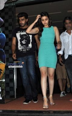 Arjun Kapoor and Alia Bhatt snapped outside PVR Andheri
