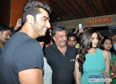 Arjun Kapoor and Alia Bhatt visits PVR Andheri to promote 2 States