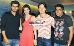 Arjun Kapoor, Kirti Sanon, Tiger Sharoff & Sabir Khan 2 States Special Screening at Yash Raj Studios