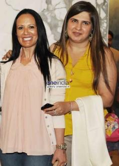 Ayesha Sharoff, Ana Singh at  2 States Special Screening at Yash Raj Studios