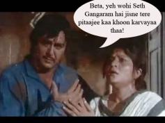 Beta, yeh wahi Seth Gangaram hai jisne tere pitaji ka khoon karvaaya tha