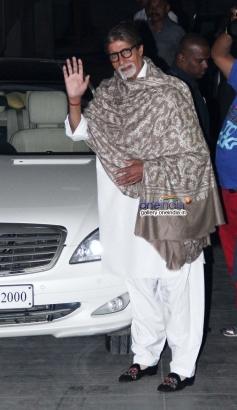 Big B at Bhoothnath Returns film screening