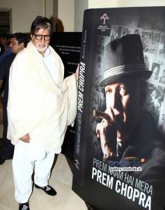 BIG B at Prem Chopra's autobiography launch
