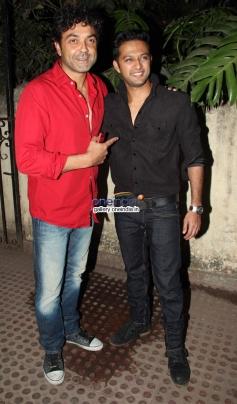 Bobby Deol with Vatsal Sheth at premiere of new tv show Ek Hasina Thi