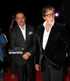 Boman Irani and Amitabh Bachchan at Bhoothnath Returns success party