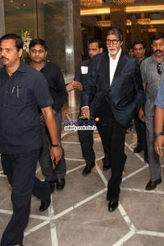 Amitabh Bachchan arrives New Delhi to promote Bhoothnath Returns
