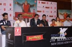 Bhoothnath Returns film press conference in New Delhi