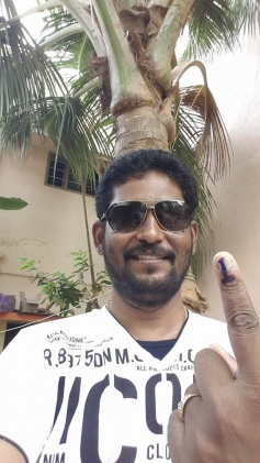 celebs casted their vote