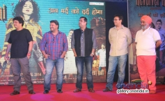 Celebs during the press conference of film Revolver Rani