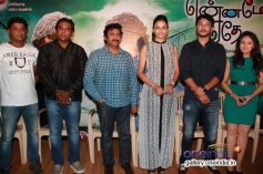 Celebs at Ennamo Edho film press meet