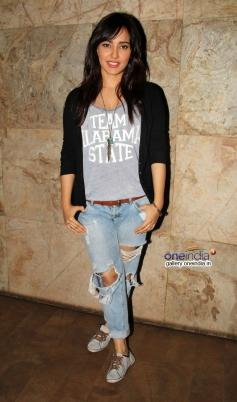 Neha Sharma at Youngistaan film screening