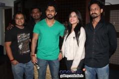 Chetan Chandra, Adithi Rao at Huchudugaru Movie Success Meet