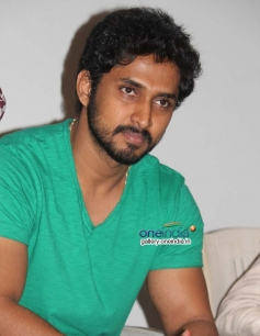 Chetan Chandra at Huchudugaru Movie Success Meet