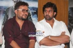 Chiranjeevi Sarja at Rudra Tandava Movie Press Meet